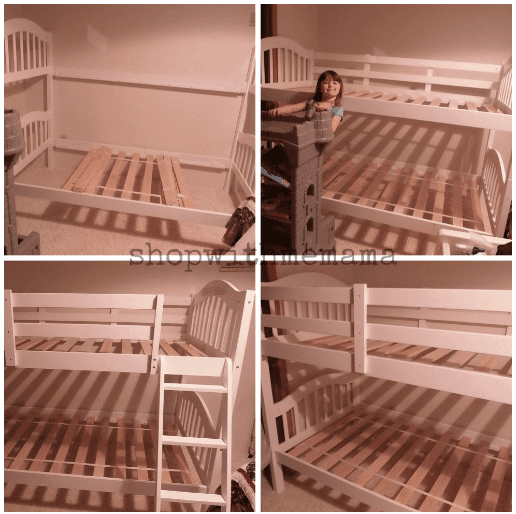 Stork Craft Long Horn Bunk Bed Review And Giveaway!!!