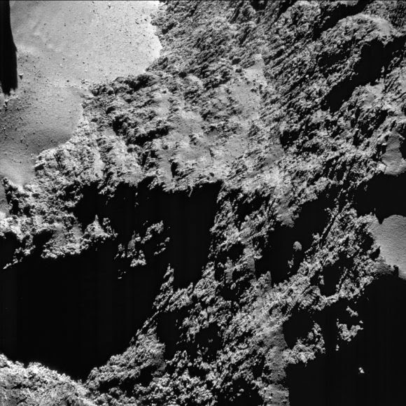 8,8 km (ESA/Rosetta/NAVCAM).