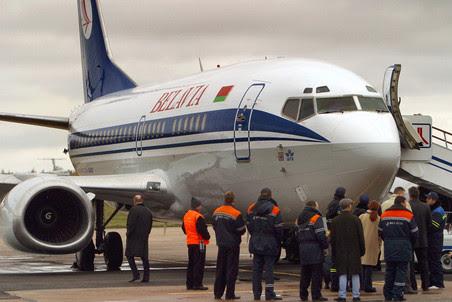 В понедельник утром было прервано авиасообщение между Москвой и Минском