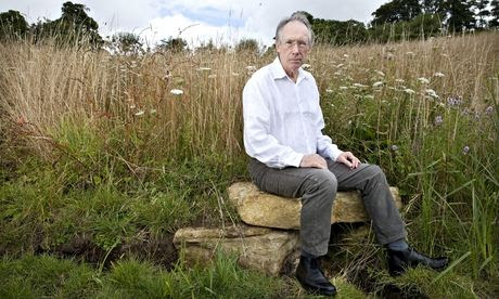 'Privileged existence': Ian McEwan photographed  by Karen Robinson for the Observer New Review earli