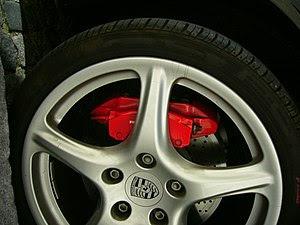 Disk brake by Porsche