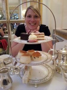 Tea at the Ritz Downton