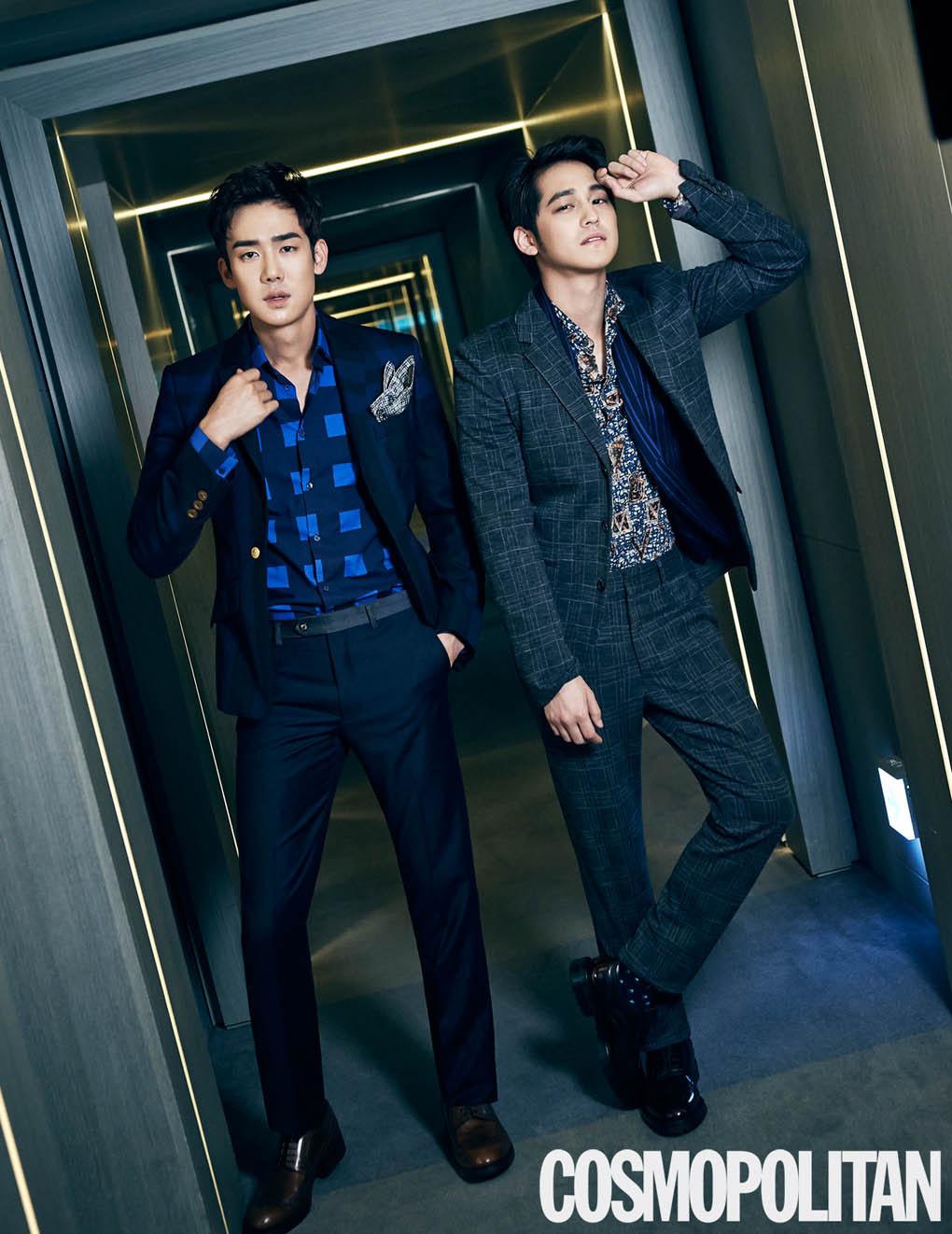 Kim Bum and Yoo Yun Suk - Cosmopolitan Magazine January Issue '15
