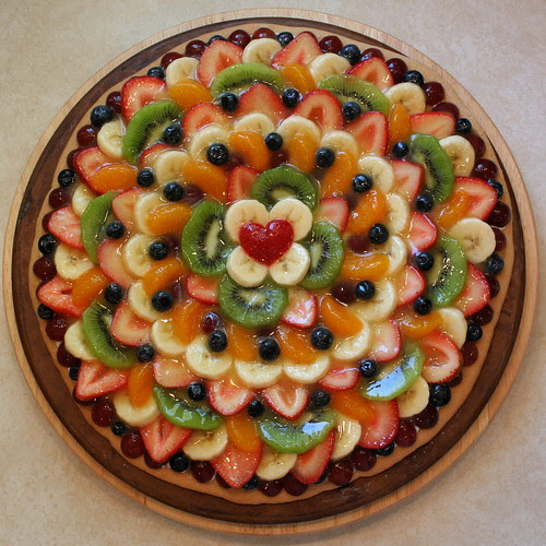 Fruit Pizza - June 2008