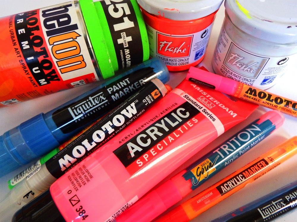 Peinture Fluorescente Et Phosphorescente Présentation Par L