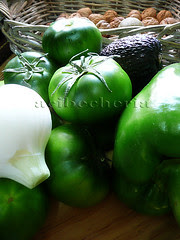 ingredientes verdes