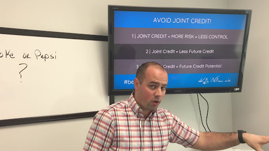 Why You Should Avoid a Joint Credit Card When Possible | Kyle Wilson