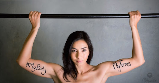 13 Powerful Photos Show People Declaring 'My Body, My Terms'