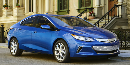 2016 Chevy Volt debuts, now with 50 miles of EV range