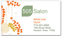 BCS-1083 - salon business card