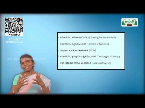 11th Nursing General தோற்றமும் மற்றும் அதன் வளர்ச்சியும் அலகு 1 பகுதி 1 KalviTV