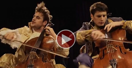 2 Men With Their Cellos Produce The Most Incredible Song Cover Ever! This Will Blow Your Mind