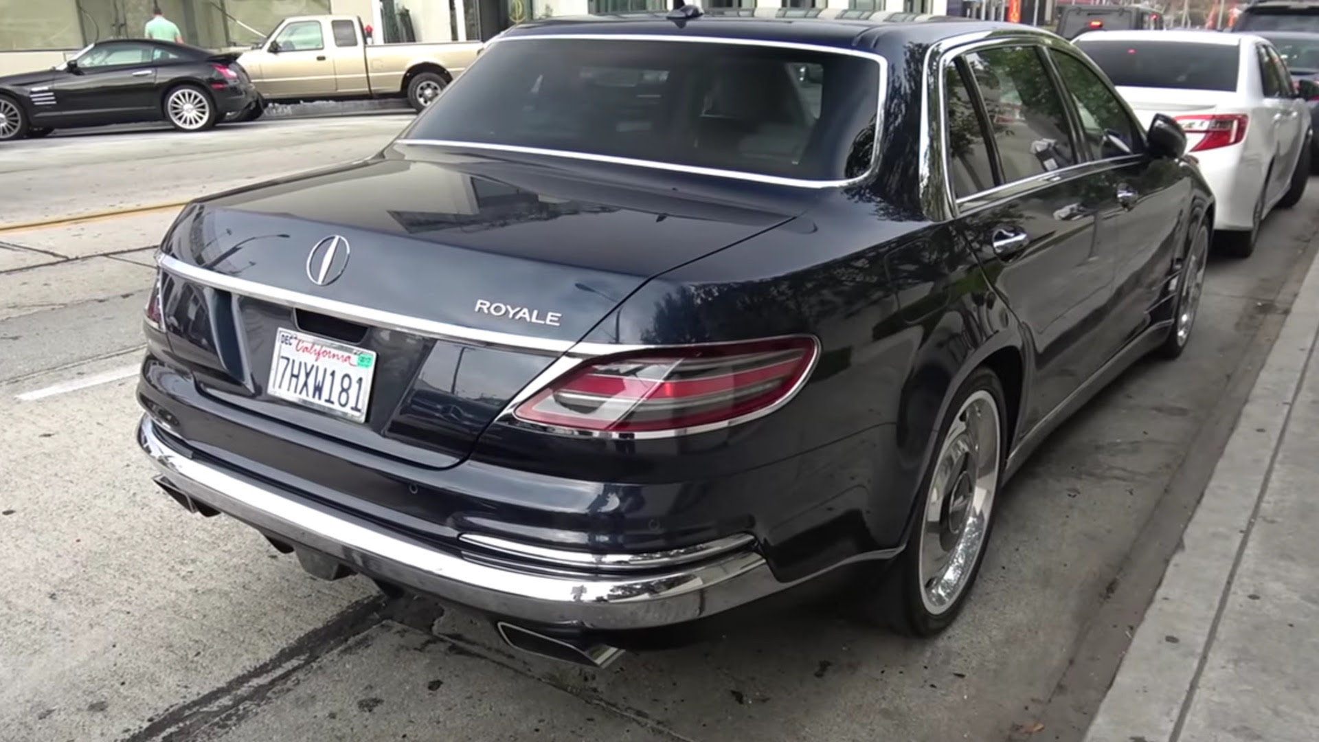Check Out the Mythical Mercedes-Benz S600 Royale from ...