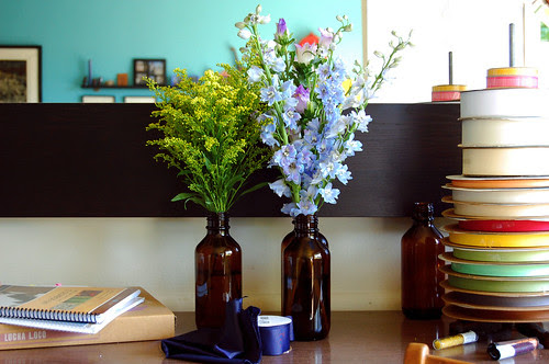friday flowers - aster and such