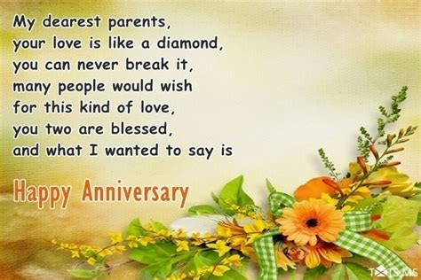 Anniversary Wishes for Parents, Quotes, Messages, Images