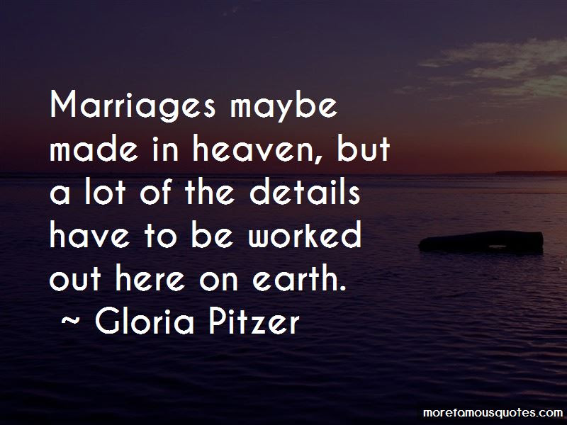 Quotes About Marriages Made In Heaven Top 15 Marriages Made In