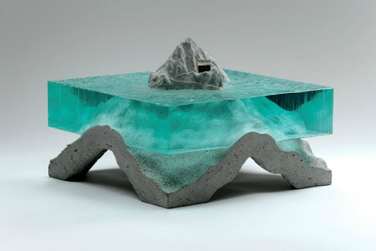 Glass and Concrete Create Suspended Sculptures | The Creators Project