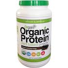 Orgain Organic Protein Plant Based Powder, Creamy Chocolate Fudge - 2.03 lb jar