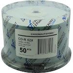 600 CheckOutStore 52x CD-R 80min 700MB ARCHIVAL Hard Coat White Inkjet Hub
