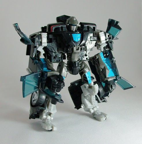 Transformers Stockade (Movie Deluxe) - modo robot