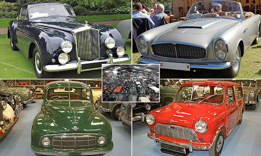 Dentist amassed Britain's biggest private car collection of 543 motors