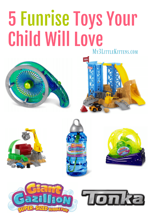 5 Funrise Toys Your Child Will Love - My 3 Little Kittens