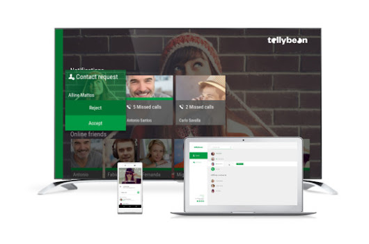 Award winning TV video calling service Tellybean launches mobile video calling app