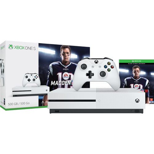 Xbox One S Madden 18 Edition Giveaway