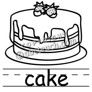 Clip Black And Cake Birthday White Art