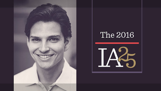 Lex Sokolin: Fintech Futurist – The 2016 IA 25