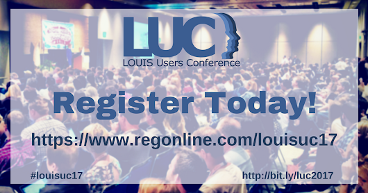 LUC 2017 Registration is Now Open!
