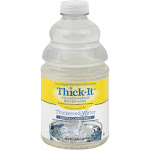 Thick It AquaCareH2O Beverages Water, Thickened, Nectar Consistency - 46 fl oz
