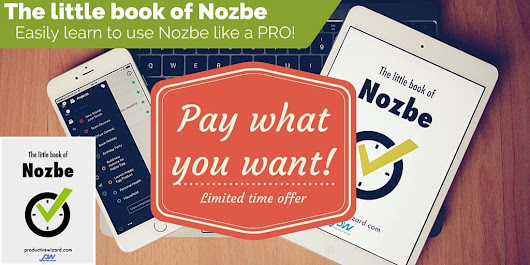 Get The little book of Nozbe for as little as $1! | ☑ Productive Wizard