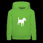 Jack Russell Terrier, perros, la agilidad Sudaderas niños