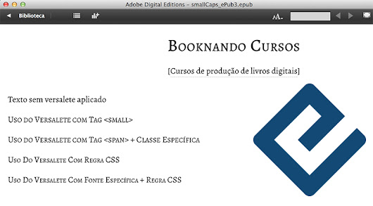 Design de eBook: o uso do versalete - Booknando Livros
