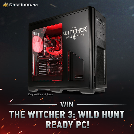 WIN! The Witcher 3: Wild Hunt Ready PC King Mod Rune of Power! Worth 1899 EUROS!