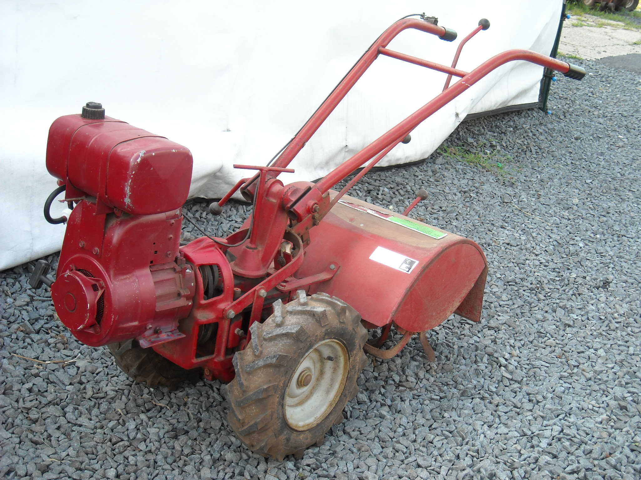 Scotts Lawn Mower line Auction Prairie Farm WI Hansen