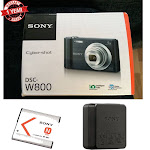 """Sony Cyber-shot DSC-W800 Digital Camera (Black)"""