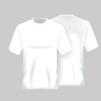Resultado de imagem para camiseta branca freepik