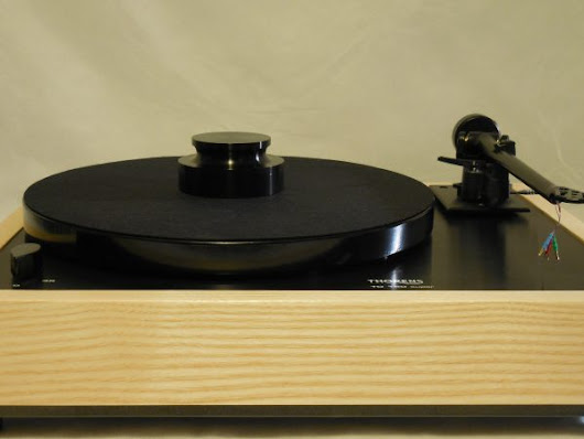Custom Thorens TD-160 Super Reproduction, Midnight Edition (ME), Upgraded Rega (Moth) RB-202 arm, White Ash Plinth - AR Turntable Vinyl Nirvana Acoustic Research Merrill Thorens TD 160 For Sale