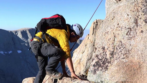 Mountaineering with Outward Bound