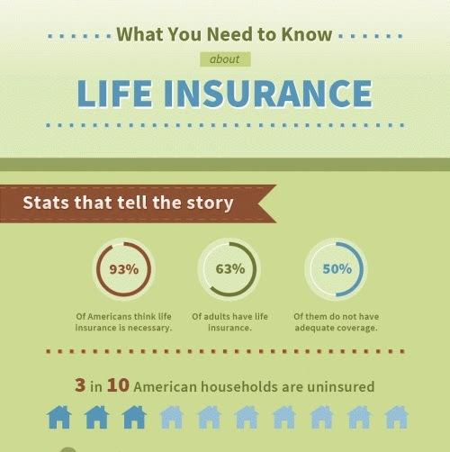 Top 10 Life Insurance Infographics