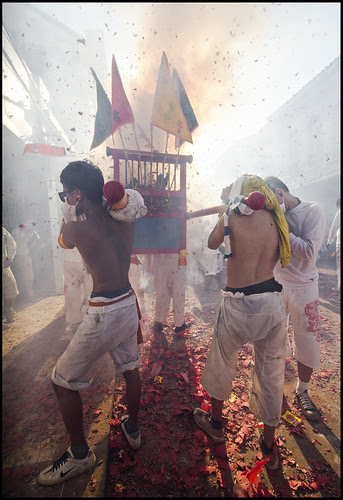 Jui Tui Shrine Procession - Gods and Firecrackers