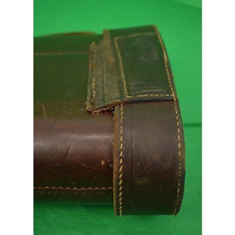 abercrombie fitch leather gun case chairish