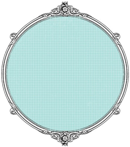 12 Tiny Graph light turquoise -  free printable paper SAMPLE