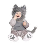 Fun World Wolf Cub Toddler Costume Multicolor
