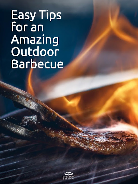 Easy Tips for an Amazing Outdoor Barbecue - Newlywed Survival