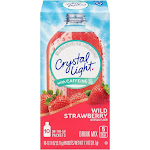 Crystal Light Energy Drink Mix, Wild Strawberry - 10 pack, 0.11 oz packets