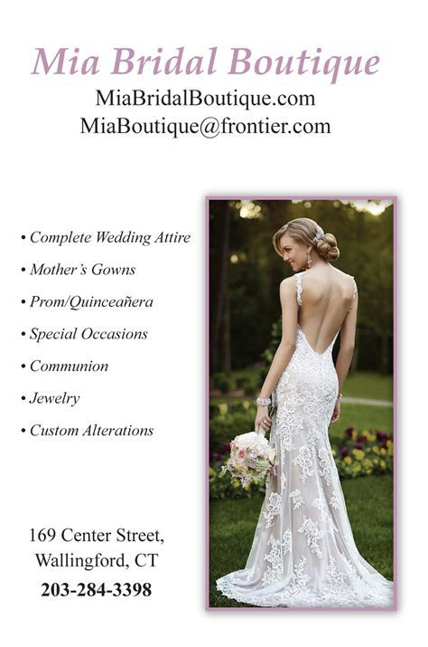 Bridal Shops ? The American Wedding Guide CT Wedding