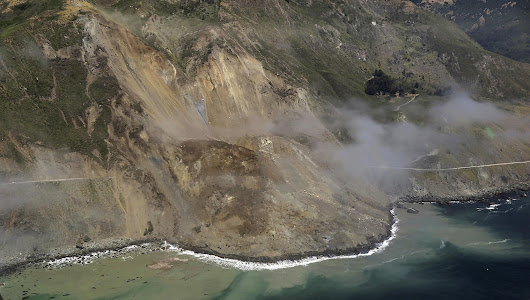 Massive landslide brings new level of isolation to Big Sur